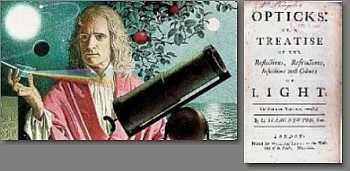 Isaac Newton e o livro Opticks
